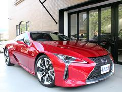 LC LC500hSパッケージ ラディアントRED HUD Mレビ