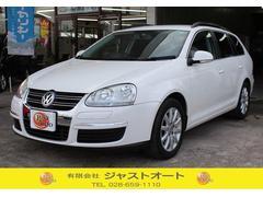 VW ゴルフヴァリアントTSI コンフォートライン 純正HDDナビ ボディコート済