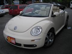 VW ニュービートルカブリオレLZ ベージュレザー ETC アルミ
