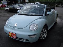 VW ニュービートルカブリオレプラス HDDナビ 本革シート HID