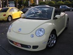 VW ニュービートルカブリオレプラス  ブラックレザー ETC 純正アルミ