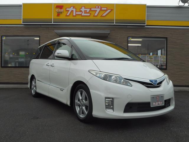 トヨタ X 社外メモリナビ・TV ツインモニター ワンオーナー車
