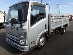 エルフトラック0734 3t平ボディ 高床標準ロング 垂直パワーゲート