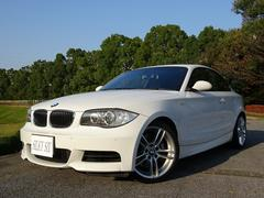 BMW 135iクーペ 赤革シート 直列6ターボ