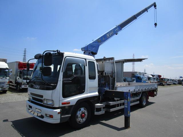 いすゞ 増トン4段ブーム積載量6.8kg