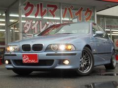 BMWM5 左ハンドル 黒革シート サンルーフ