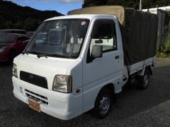 サンバートラックTB パートタイム4WD荷台幌付き AC PS