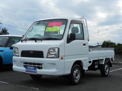 サンバートラックTC 4WD エアコン パワステ 5速マニュアル タイヤ新品