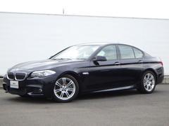 BMW523d Mスポーツ ワンオーナー レザーシート