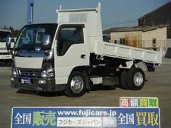 エルフトラック積載2t強化フルフラットローダンプ スムーサー5速シフト