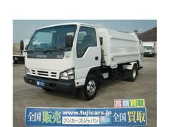 エルフトラックプレス式パッカー 塵芥車 7.1立米 積載2.95トン