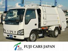 エルフトラックプレス式パッカー 塵芥車 4.2立米 積載2t