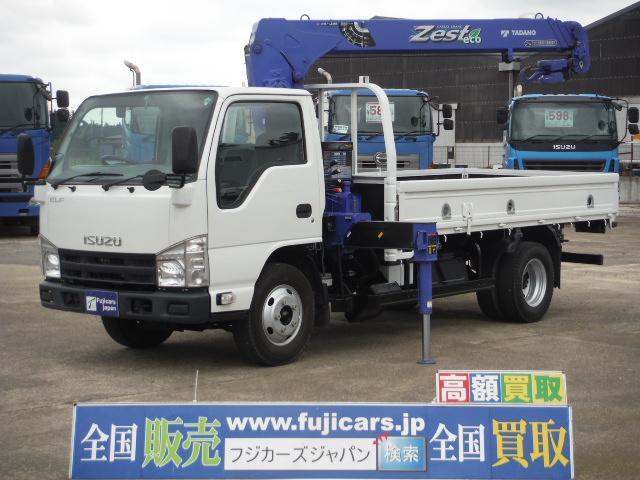 いすゞ エルフトラック 3.0DT 2.63t吊り ラジコン タダ...
