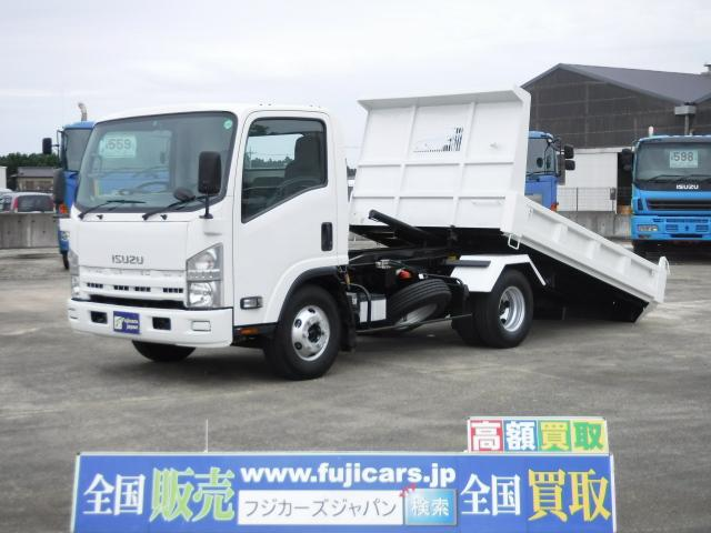 いすゞ エルフトラック ローダーダンプ 積載3.65t 5.2D ...