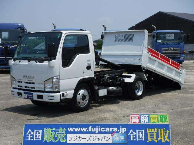 いすゞ エルフトラック ローダーダンプ 3.0D 積載3t 6MT...