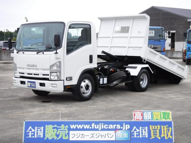 いすゞ エルフトラック ローダーダンプ 5.2D 6MT 積載3....
