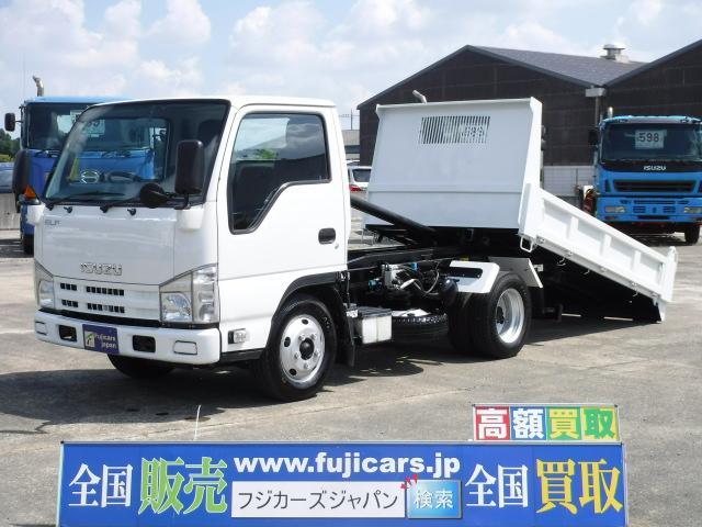 いすゞ エルフトラック ローダーダンプ 3.0DT 6速 積載3t...