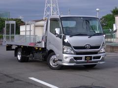 トヨエースターボ積載車アルコア製アルミ7本付荷台ユニック製ワンオーナー