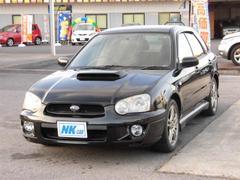 インプレッサスポーツワゴンWRX 4WD ターボ ETC ナビ HID MTモード