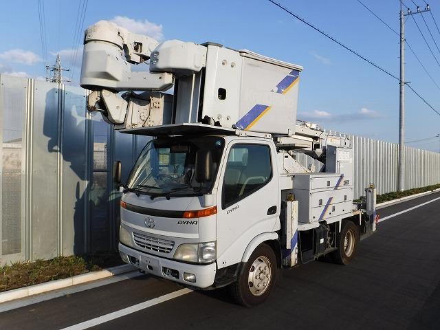 トヨタ 高所作業車 14.7m タダノ 多関節 サブエンジン付き