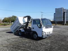 エルフトラック脱着装置付コンテナ専用車 アームロール