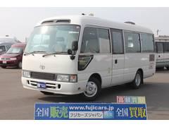コースタービックバン 移動販売車 移動スーパー 発電機(トヨタ)