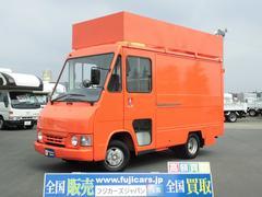 クイックデリバリー 移動販売車ベース 新規塗装オレンジ(トヨタ)