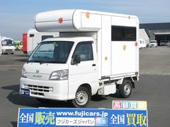 ハイゼットトラック中鉢工業製脱着式キャンピングBOX MOMIZI