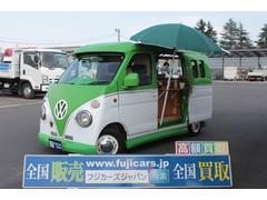 ハイゼットカーゴクルーズターボ 移動販売車 カスタムフェイス