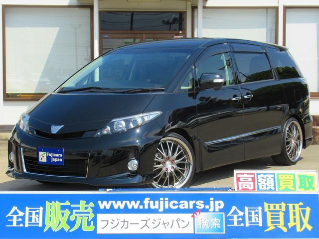 トヨタ アエラスプレミアムエディション 9インチナビ 20AW 両P