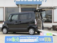 N BOX+G・Lパッケージ車いすスロープ 電動ウインチ 純ナビ