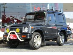 ジムニーターボ 4WD 5MT ルーフキャリア フロントグリルガード