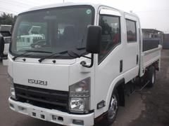 エルフトラックWキャブロング パワーゲート 4WD 2t積