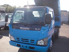 エルフトラック2t  ダンプ 高床 排ガス適合