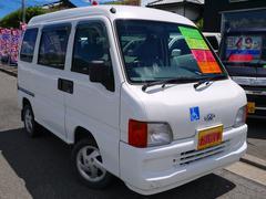サンバーバンVB 4WD オートマ 福祉車両 車イス移動車