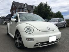 VW ニュービートル特別仕様車 ナビ ETC 本革 HID シートヒーター