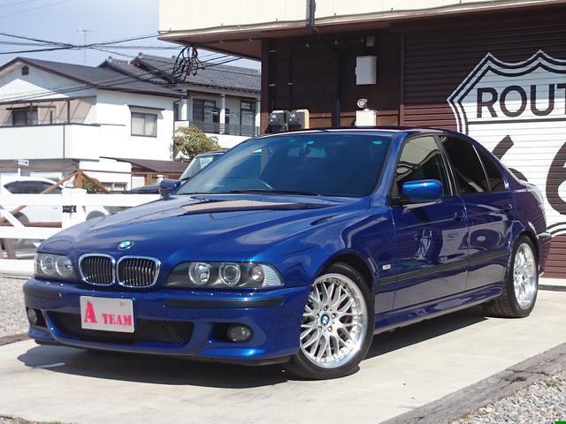 BMW 5シリーズ 525iMスポーツリミテッド特別限定ルマンブル...