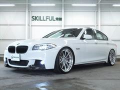 BMW535iMスポーツ黒革SRエアロ21AW車高調マフラーTV