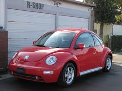 VW ニュービートルサルサ ワンオーナータイベル済 赤黒ツートン革シートヒーター