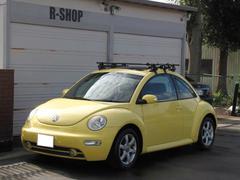VW ニュービートルプラス ワンオーナー キャリア付黒革シートヒーターサンルーフ
