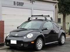 VW ニュービートルターボ5速マニュアルマフラー改Rスポ17インチ黒革シートヒタ