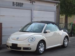 VW ニュービートルカブリオレCDETC記録簿付 キーレス シートヒーターセキュリテイ