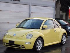 VW ニュービートルターボ 黒革シートヒーター メッキパーツ 天井張替え済