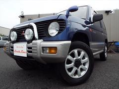 パジェロミニターボ 4WD CD Tベル済 エアコン パワステ オートマ
