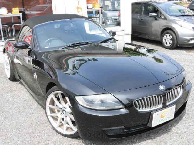 BMW Z4 ロードスター2.5i後期型電動OPHDDナビ革シート...