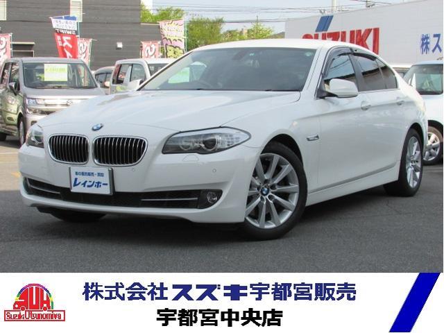 BMW 5シリーズ 535i 黒革シート 純正HDDナビ 地デジ ...