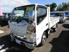 キャンター ダンプ 3t 3000cc ディーゼルターボ 登録済未使用車(三菱ふそう)