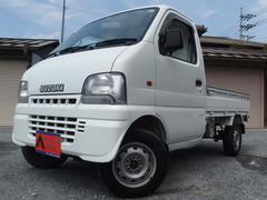 キャリイトラックKUスペシャル 4WD 5速 エアコン パワステ