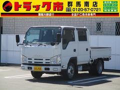 エルフトラック1.5t積・Wキャブ・フルフラットロー・4WD・ETC