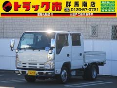 エルフトラック4WD・2t積・Wキャブ・社外ナビ